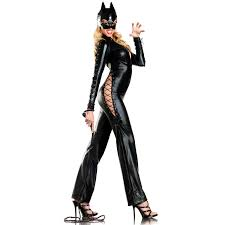 catsuit halloween costumes two faced catwoman womans costume