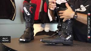 hinged motocross boots sidi charger boots from motorcycle superstore com youtube