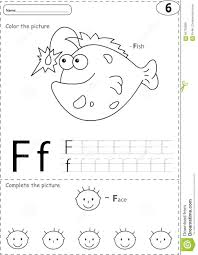 Free Alphabet Tracing Worksheets Cartoon Fish And Face Alphabet Tracing Worksheet Writing A Z A