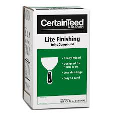 certainteed lite finishing drywall joint compound lowe u0027s canada