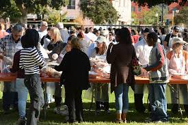 thanksgiving dinner in los angeles pictures getty images