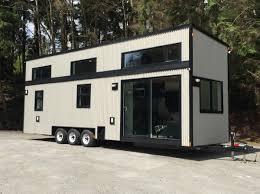 a luxury tiny house from west coast outbuildings of north