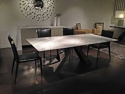 Buy Stone International Butterfly Marble With Stainless Steel Base - Stone kitchen table