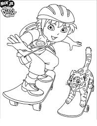 printable diego coloring pages pics u2014 fitfru style printable