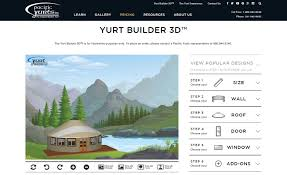visualizer online pacific yurts unveils yurt builder 3d industry s first online