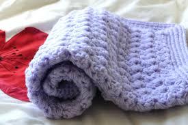 sewing baby blankets puff stitch tutorial crochet zigzag blanket