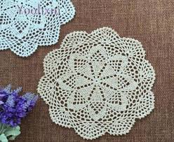 napperon de cuisine chaude coton table napperon tissu dentelle pad crochet napperon pot