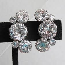 vintage earrings shop vintage weiss earrings on wanelo