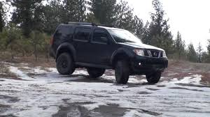 nissan pathfinder lift kit lifted r51 pathfinder offroad youtube