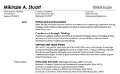 does your twitter handle belong in your resume the prepguide