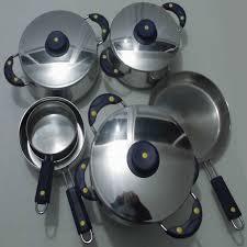 accessoire de cuisine accessoire cuisine service inox lot de 9 pièces cook bleu