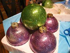 glitter ornaments that will not leave traces of glitter my own