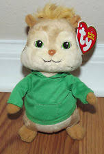 alvin chipmunks ty beanie baby collection theodore 6