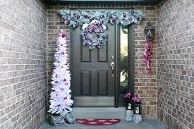 holiday front door decorations let u0027s mingle blog