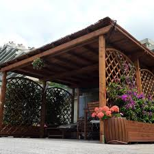 tettoia autoportante pergola strong autoportante 8x4 portata 130 kg mq legno garanzia