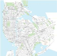 New York Mta Map Mapping Subways Buses And Free Transfers In One Place 6sqft