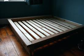 simple bed frame diy king ideas coccinelleshow com