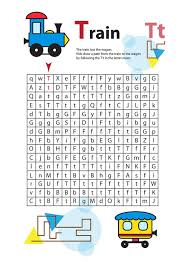 letter maze t this worksheet helps kids recognize and name