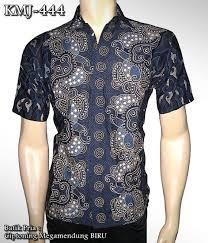 desain baju batik pria 2014 batik modern motif ciptoning megamendung kemeja batik kombinasi