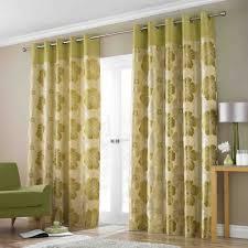 Sliding Door Design For Kitchen Sliding Door Curtain Glass Window Treatments Flowerylive Green