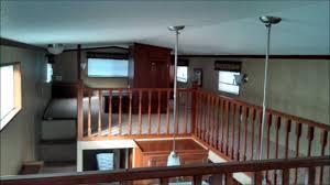 destination travel trailers canterbury triple loft model cktl