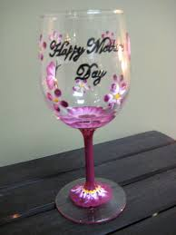 halloween wine glasses happy mother u0027s day wine glass paint a personalized wine glass