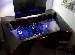 Gamer Computer Desk Custom Desks For Gaming Computer Sale Pc Desk Rgb Godness