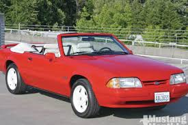 ford mustang 92 1992 mustang convertible instant collectible mustang monthly