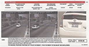 traffic light camera ticket sgt al s blog dear sgt al destroying a red light camera