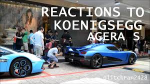 koenigsegg agera s red koenigsegg agera s draws a crowd in singapore youtube