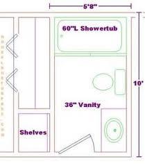 Small Bathroom Floor Plans 5 X 8 by Small Bathroom Designs Floor Plans For 8 X 8 Bathroom Planning