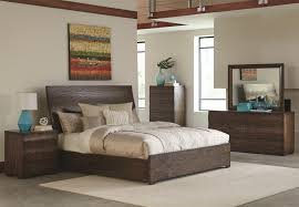 King Bedroom Set With Armoire Buy Calabasas Contemporary California King Bed With Wavy Wood