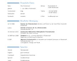 Libreoffice Resume Template Lebenslauf Im Moderncv Stil U2014 Libreoffice Extensions And Templates