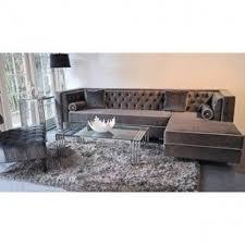 tufted velvet sofa high back tufted sofa foter