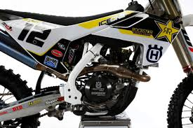 rockstar motocross helmets rockstar energy husqvarna factory racing fc 450 first look 2016