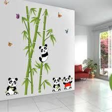 stickers panda chambre bébé stickers tonton panda