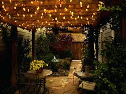 Patio Umbrella With Led Lights by String Lights Outdoor Patio Sacharoff Decoration