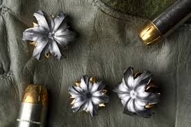 bullet flowers tactical flowers artist fires hollow point bullets underwater