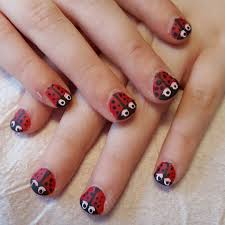 pinguin easy nail designs for short cute nail art designs for