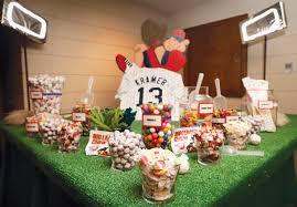 baseball wedding table decorations baseball theme bar mitzvah wedding sweet 16 party