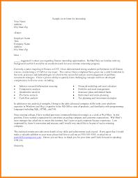 Ideas Collection Sample Internship Cover Ideas Collection Sample Cover Letter For International Business