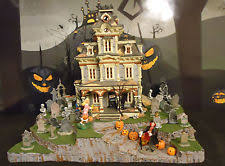 spooky town lemax 34984 3 pc spooky town display platform landscape base ebay