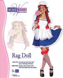 Rag Doll Halloween Costumes Amazon Secret Wishes Rag Doll Costume Clothing