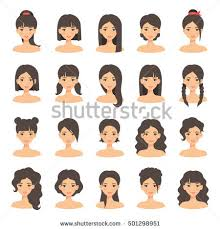 hairstyle stock images royalty free images u0026 vectors shutterstock