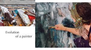 a painter evolution of a painter