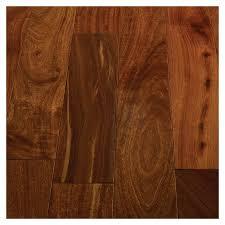shop br 111 engineered santos mahogany hardwood flooring plank at