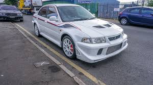 mitsubishi cars white mitsubishi evo 6 vi tommi makinen edition scotia white jdm fresh