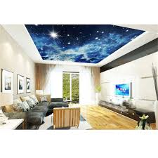 online shop 3d murals ceiling wallpaper for walls diy non woven online shop 3d murals ceiling wallpaper for walls diy non woven fabric printed beautiful starry stars scenery wall papers living room 288 aliexpress
