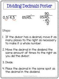 decimals unit pretests post tests posters cheat sheets worksheets