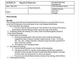 operations manual template free cvresume unicloud pl